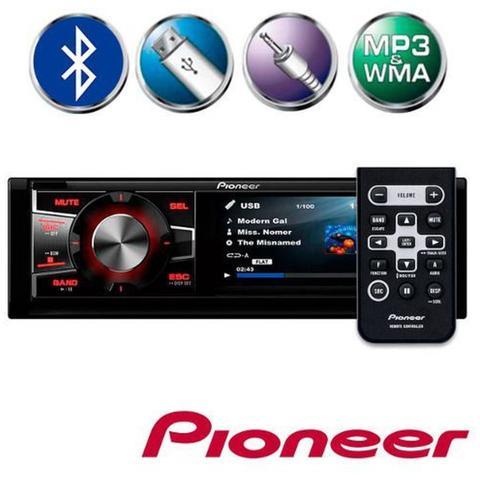 Imagem de Dvd Player Automotivo Pioneer Dvh-7880av - Tela de 3 Entrada Auxiliar e Usb