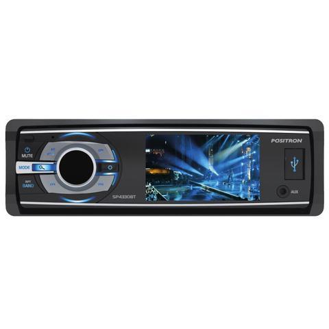 Imagem de Dvd Player Automotivo Positron SP4340BT Tela 3'' DVD/Bluetooth/USB/AUX/AM/FM C/ Controle