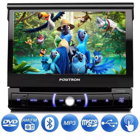 Imagem de Dvd Player Automotivo Pósitron Sp6330bt 1 Din 7