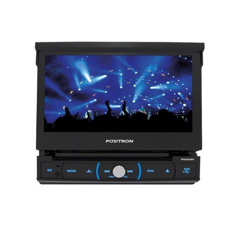 Imagem de DVD Player Automotivo Positron SP6330BT 7 Polegadas Retrátil Bluetooth Espelhamento USB SD MP3 Entrada Câmera de Ré