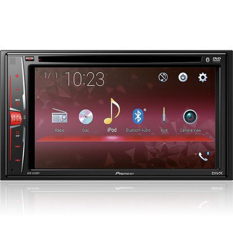 Imagem de DVD Player AVH-A218BT 6.2 pol Pioneer 2Din BT FM Touch Bluetooth Usb Aux Cd Dvd + Câmera de ré