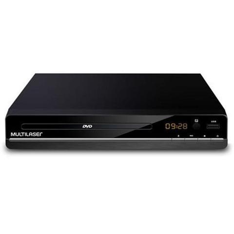 Imagem de Dvd Player DVD CD USB Rca Bivolt Preto SP252 Multilaser