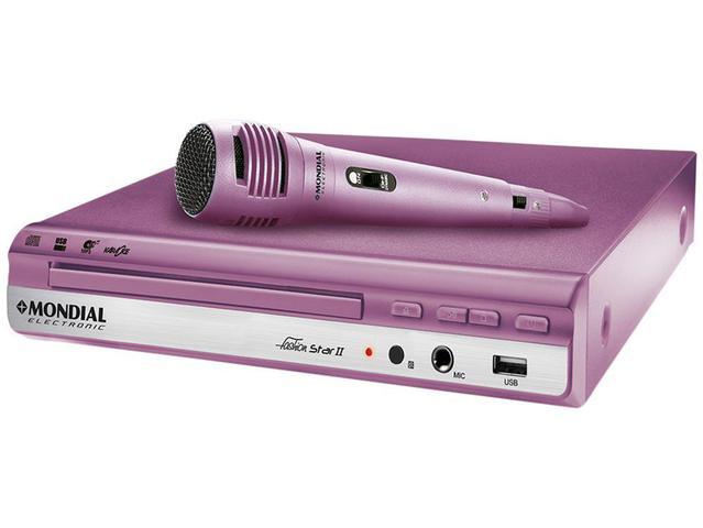 Imagem de DVD Player Mondial Fashion Star II
