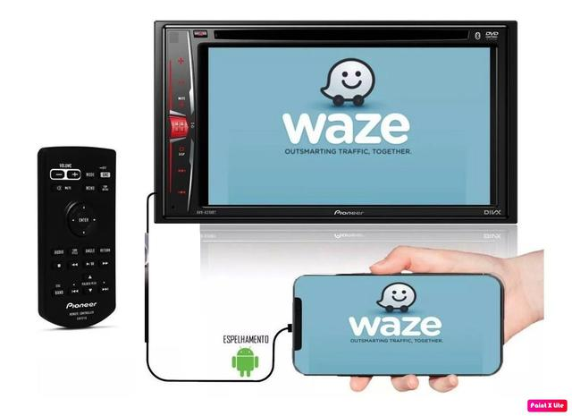 Imagem de DVD Player Pioneer 2DIN USB/BT/Espelhamento - AVH-A218BT