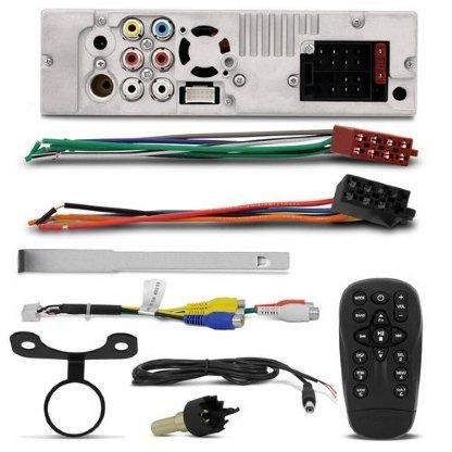 Imagem de Dvd Player Pósitron Retrtil 7 Pol Usb Sd Bluetooth Sp6320bt + Câmera Ré