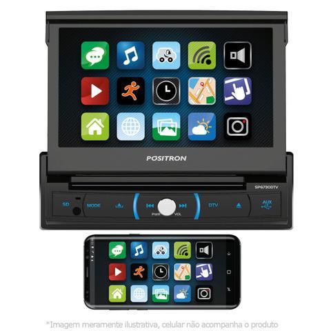 Imagem de DVD Player Pósitron SP6730DTV 7 Pol Retrátil