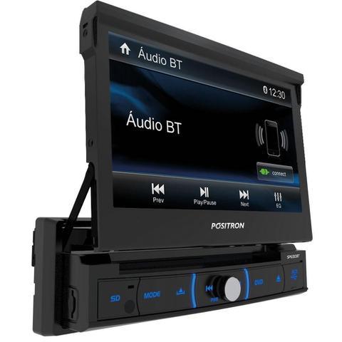 Imagem de Dvd Retrátil Positron Sp6330bt C/ Usb, Bluetooth e Espelhamento