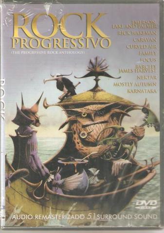 Imagem de DVD Rock Progressivo