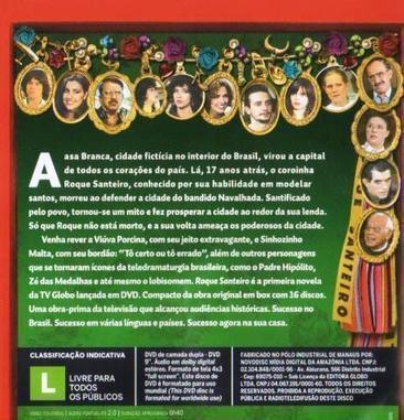 Imagem de DVD Roque Santeiro - Disco 9 e 10