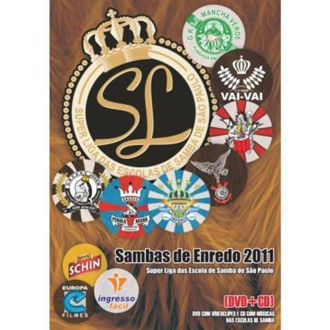 Imagem de DVD Sambas de Enredo 2011