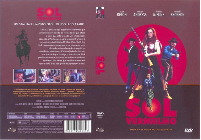 Imagem de Dvd - Sol Vermelho (Disponibilidade: Imediata)
