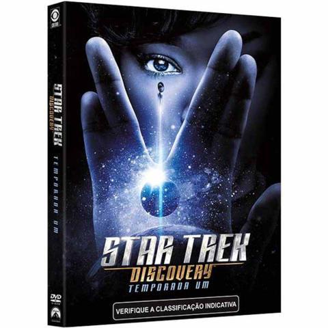 Imagem de DVD Star Trek Discovery - Temporada Um (4 DVDs)