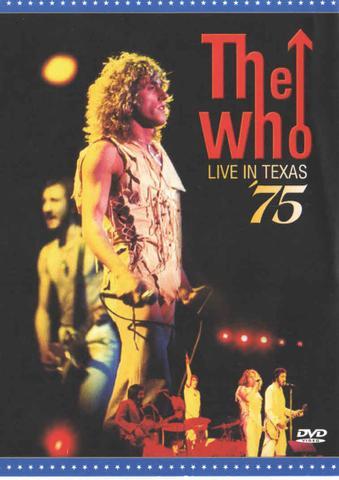 Imagem de Dvd - the who - live in texas  75