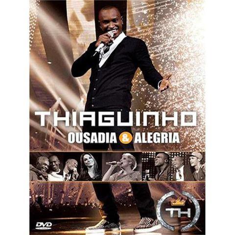 Imagem de DVD Thiaguinho - Ousadia e Alegria