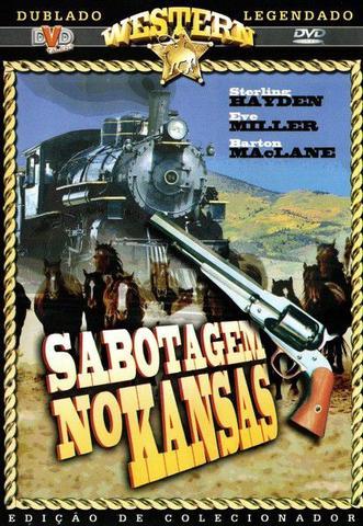 Imagem de DVD Western Sabotagem no Kansas