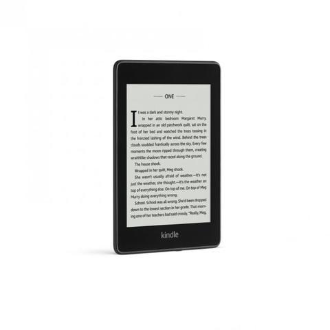 Imagem de E-Reader Amazon Novo Kindle Paperwhite Preto 8GB Wi-fi à Prova D Água Tela 6