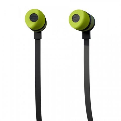 Imagem de Earphone Fone de Ouvido Intra Auricular com Microfone Easy In-ear Earbuds - Verde - Iwill