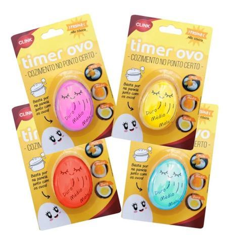 Imagem de Egg Timer Cozimento de Ovos Resina - Rosa - CK2758