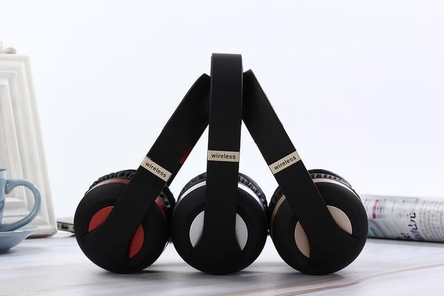 Imagem de EK-MH4 Headset Bluetooth 5.0 Vermelho sem fio c/ microfone Chamada Fone de ouvido movimento sem fio