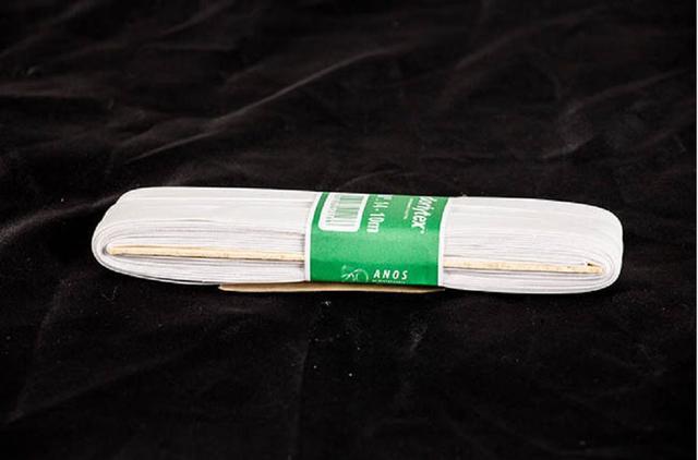 Imagem de Elástico Branco nº 14 Dorlytex  10 peças com 10 metros cada