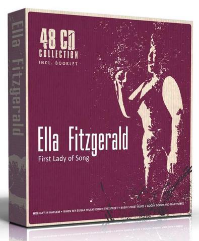 Imagem de Ella Fitzgerald Box Set 48 cd's