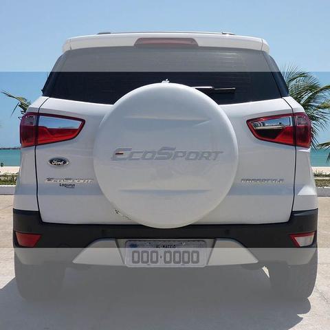 Imagem de Emblema Ford Ecosport 2013/2014 Adesivo Capa Estepe Resinado