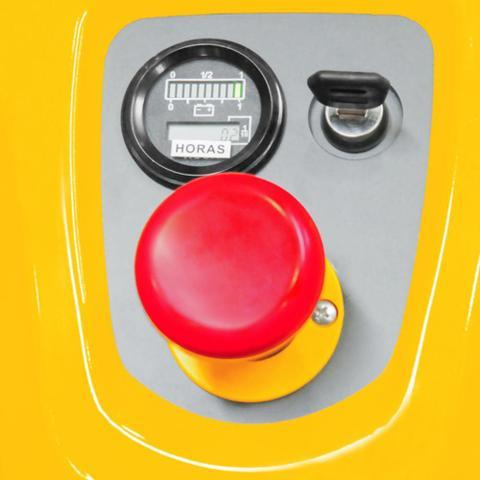 Imagem de Empilhadeira Elétrica 1,5T 1150X695mm EEV1500 Vonder