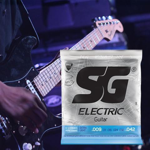 Imagem de Encordamento 0.09 P/ Guitarra Extra Light Niquel SG  5145