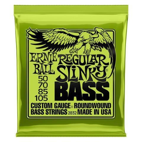 Imagem de Encordoamento 50-105 baixo 4 cordas regular slinky ernieball