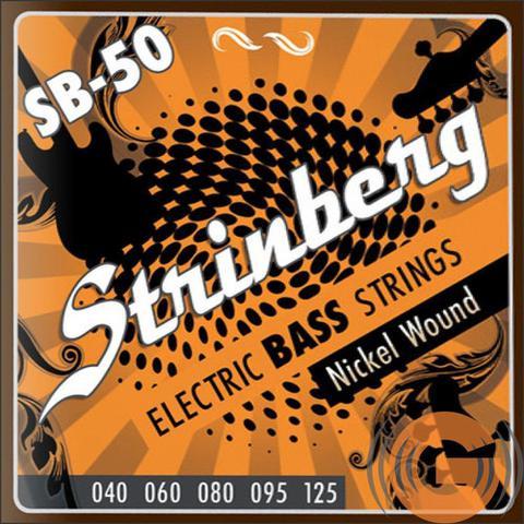 Imagem de Encordoamento Contra Baixo Strinberg 5 Cordas Modelo SB50