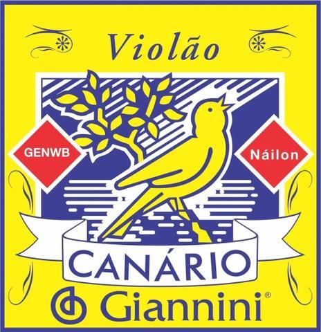 Imagem de Encordoamento Cordas Violão Nylon Médio Giannini Canário