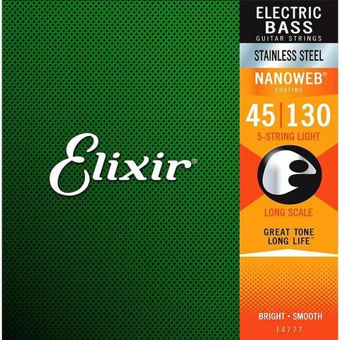 Imagem de Encordoamento Elixir 14777 para Baixo 5 Cordas
