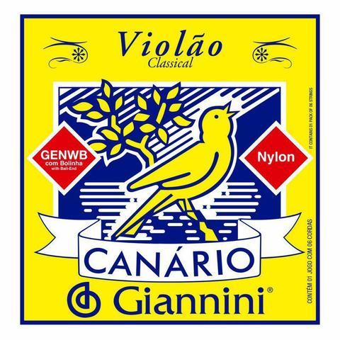 Imagem de Encordoamento Giannini Canario Genwb Violão Nylon Bolinha