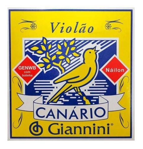 Imagem de Encordoamento Giannini Canario Genwb Violão Nylon C/ Bolinha