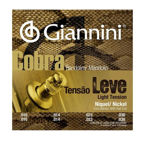 Imagem de Encordoamento Giannini GESBN .010/.030 Cobra para Bandolim