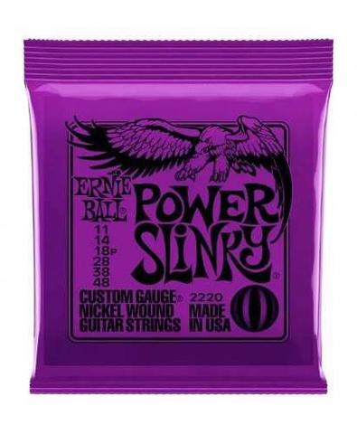 Imagem de Encordoamento Para Guitarra Ernie Ball Power Slinky 011 2220