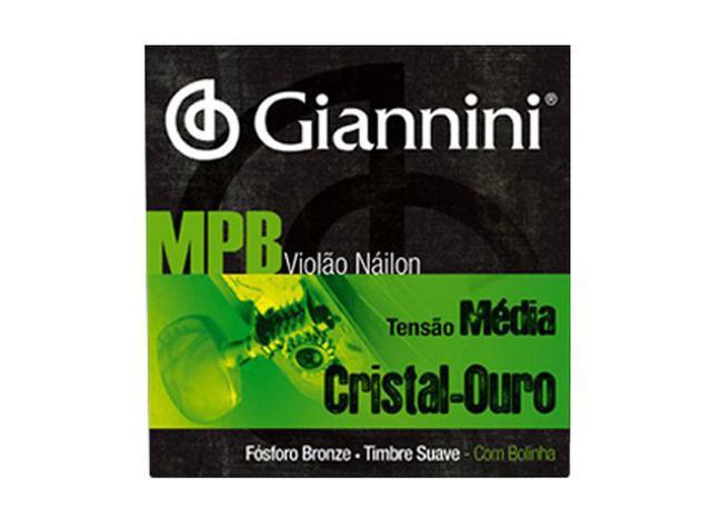 Imagem de Encordoamento Para Violão GENWG Bolinha Nylon Media Giannini