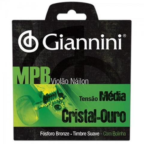 Imagem de Encordoamento para Violão Nylon com Bolinha Média GENWG Série MPB GIANNINI