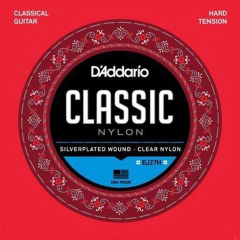 Imagem de Encordoamento para violão Nylon D'Addario CLASSIC EJ27H - Daddario