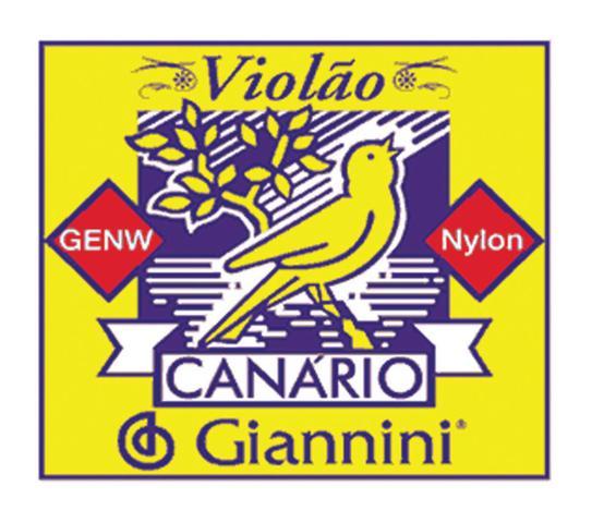 Imagem de Encordoamento para violão nylon genw - série canário - tensão média