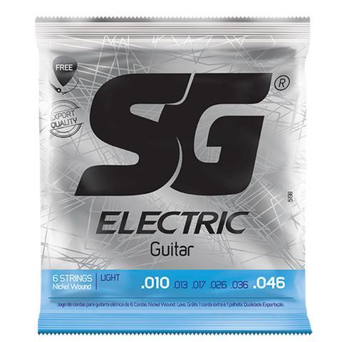 Imagem de Encordoamento SG Strings .010/.046 Tensão Leve para Guitarra