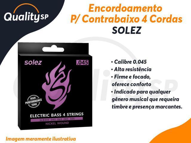 Imagem de Encordoamento SOLEZ Contra Baixo 4 cordas .045 SLB445