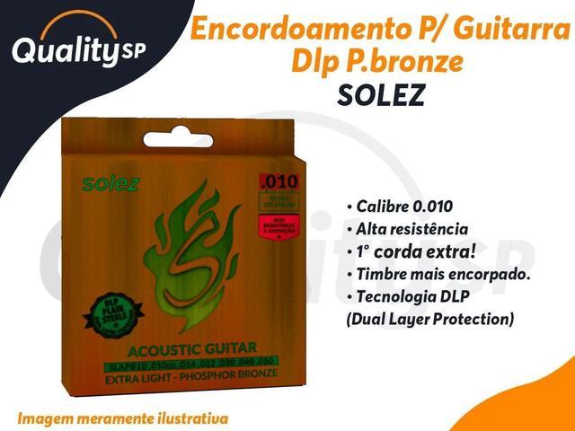Imagem de Encordoamento SOLEZ Violao DLP P.Bronze calibre 0.010 SLAPB10