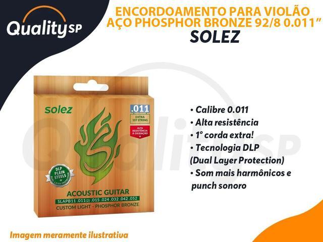 Imagem de Encordoamento SOLEZ Violao DLP P.Bronze calibre 0.011 SLAPB11