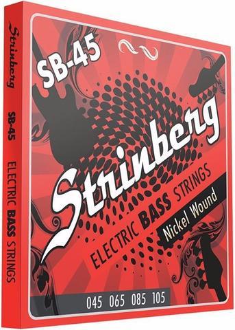 Imagem de Encordoamento Strinberg Baixo 4 Cordas 045 100 SB45 Nickel Wound