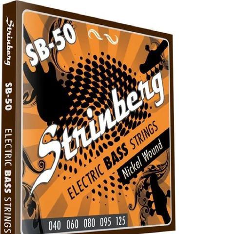 Imagem de Encordoamento strinberg contrabaixo sb50 5 cordas