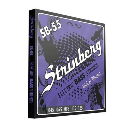 Imagem de Encordoamento strinberg contrabaixo sb55 5 cordas