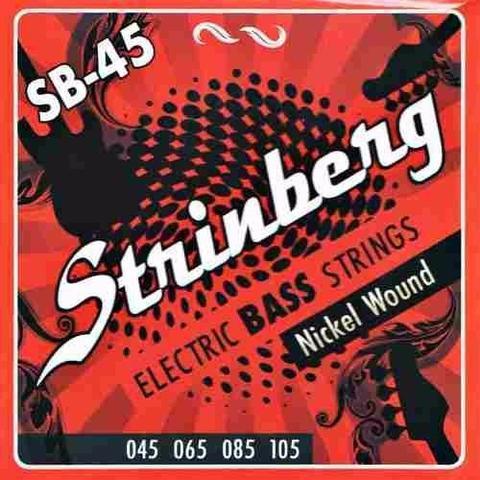 Imagem de Encordoamento Strinberg Sb45 para Contra Baixo 4 Cordas 045