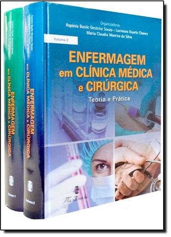 Imagem de Enfermagem Em Clin Medica E Cirurgica, 4 Vols. / Gesteira