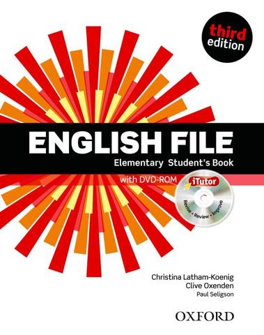 Imagem de English file elementary sb with itutor - 3rd ed